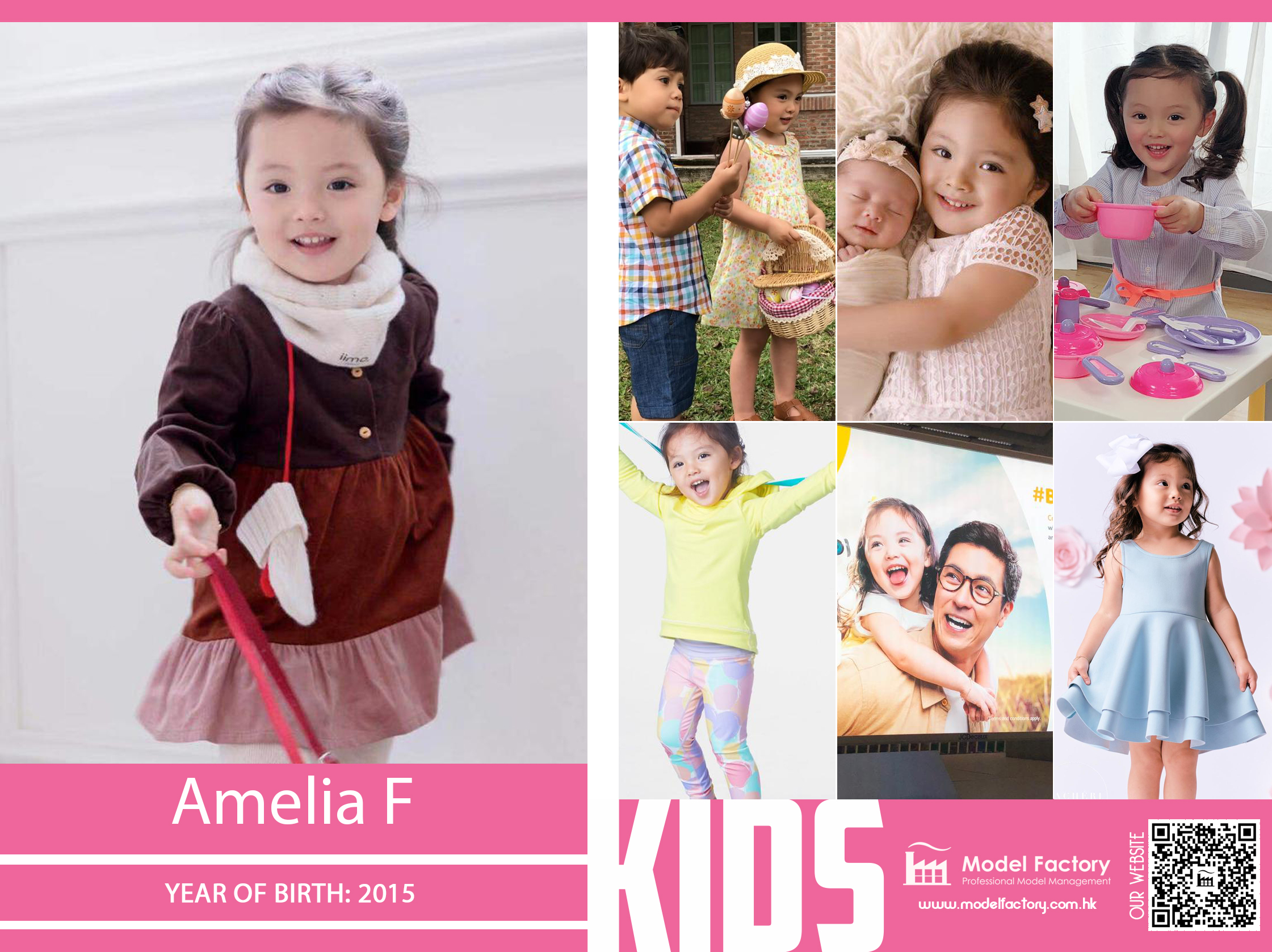 Model Factory Mix Kids Model AmeliaF